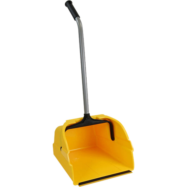 Quickie® 495 Jumbo Debris Dust Pan with Reinforced Steel Handle