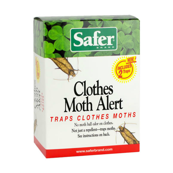 Safer® 07270 Clothes Moth Alert Trap