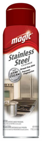 Magic American® 3062 Stainless Steel Cleaner Aerosol, 17 Oz