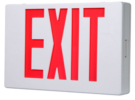 Sure-Lites APX6R All Pro LED Exit Sign, AC Powered