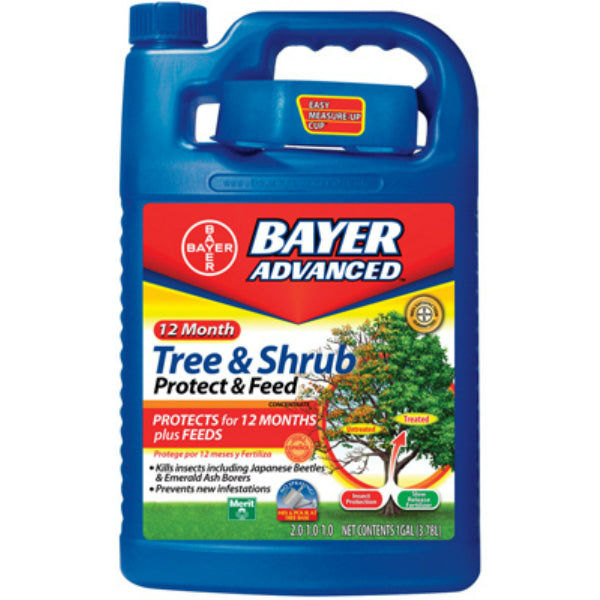 Bayer Advanced™ 701915A Tree & Shrub Protect & Feed, Concentrate, 1 Gallon