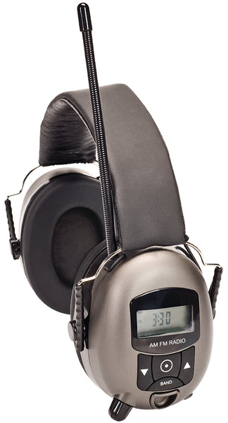 MSA Safety Works® 10121816 Digital MP3/AM/FM Stereo Hearing Protector