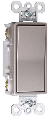 Pass & Seymour 4-Way Premium Decorator Switch 15A, Nickel