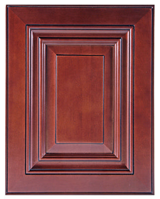 Bojobo W2442CAC Wall Cabinet, Caribbean Cherry