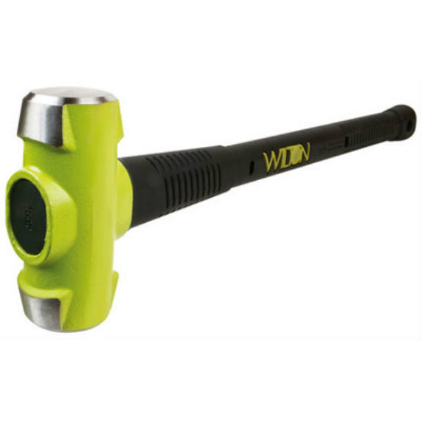 "Wilton Tools 20830 B.A.S.H® Green Head Sledge Hammer, 8 Lb Head, 30""L"