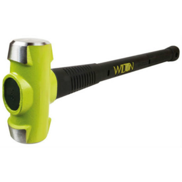 "Wilton Tools 20624 B.A.S.H® Green Head Sledge Hammer, 6 Lb Head, 24""L"