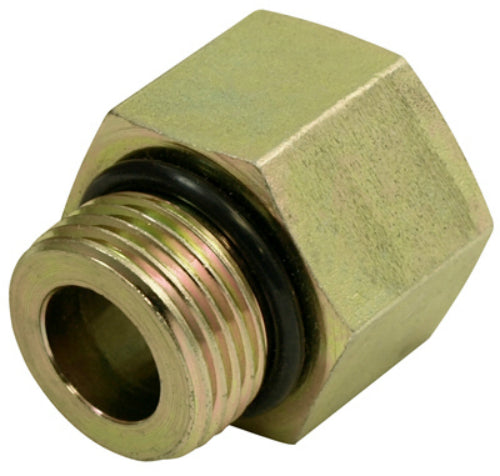 "Apache 39036156 Hydraulic Hose Adapter, 1/2"" Male O-Ring x 1/2"" FP (Style 6405)"