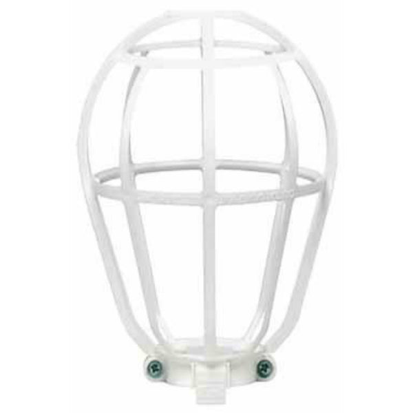 Leviton® R50-12200-00W Ceiling Lampholder Replacement Guard, White