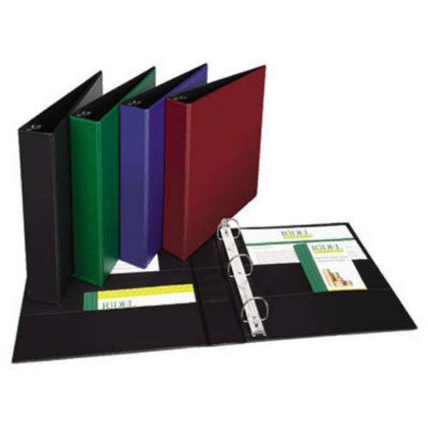 "Avery® 11358 Durable View Binder, 1.5"", Assorted Color"