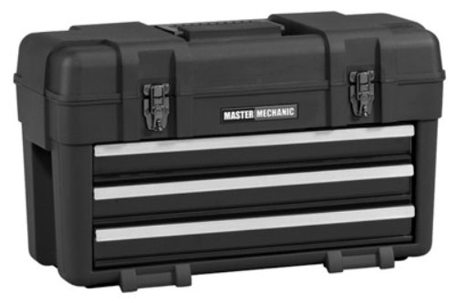 Master Mechanic MM23BK Plastic Portable Chest, 3 Drawer
