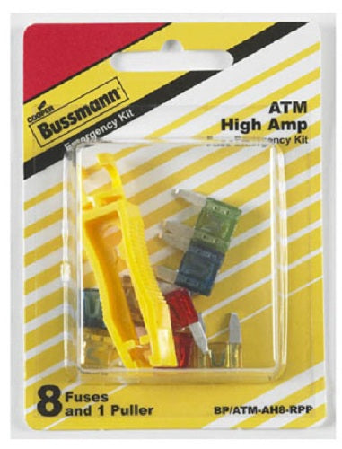 Cooper Bussmann BP-ATM-AH8-RPP ATM High Amp Fuse Emergency Kit, 8-Piece