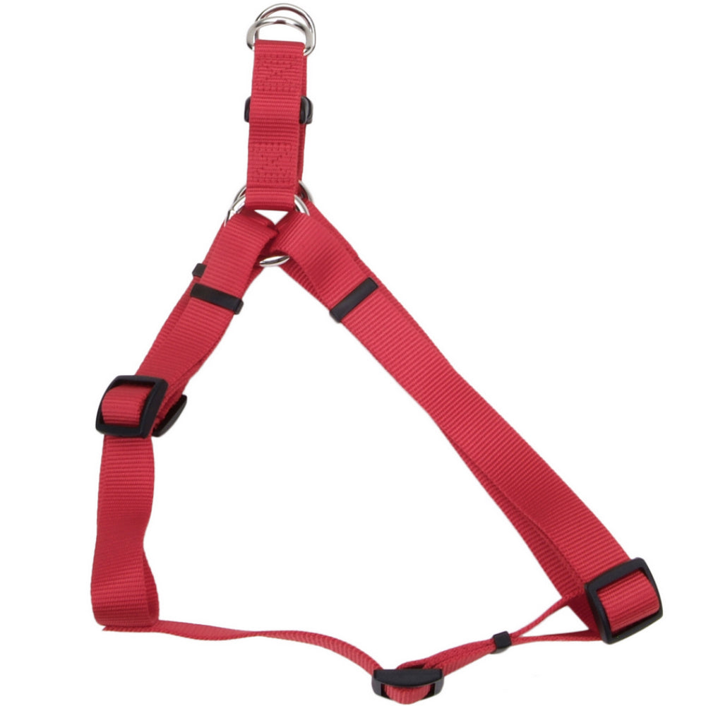 "Coastal Pet® 06945-A-RED40 Comfort Wrap® Adjustable Nylon Dog Harness, 1"", Red"