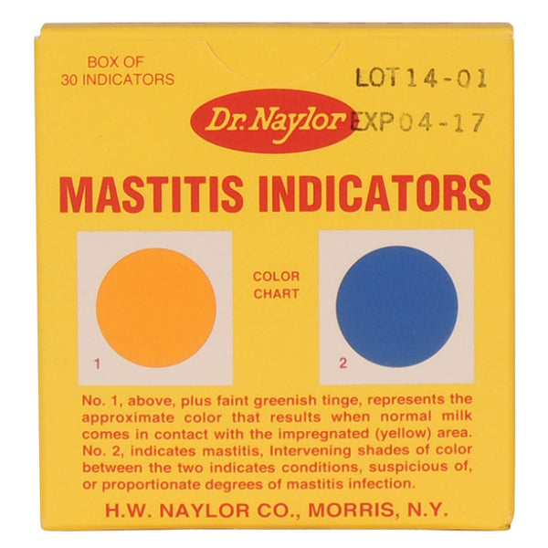 Dr. Naylor® MI Mastitis Indicators, 30-Count