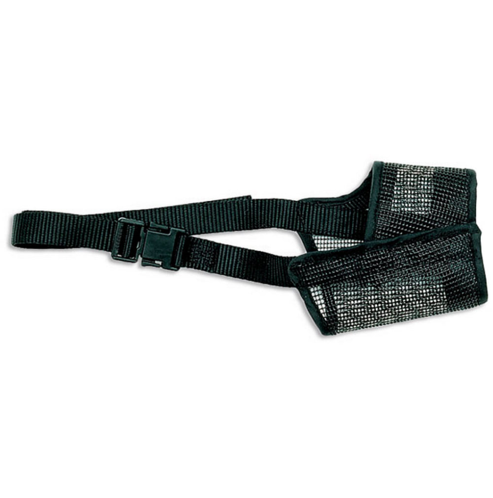 Best Fit® 01300-A-BLK06 Adjustable Mesh Dog Muzzle, Size 6, Black