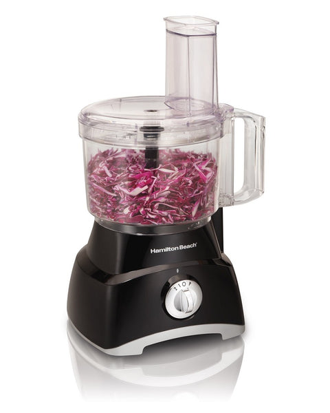Hamilton Beach® 70740 8-Cup Top Loaded Food Processor, 2-Speed, 450W