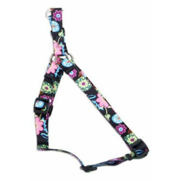 Coastal Pet 66445-A-WDF24 Adjustable Fashion Dog Harness, Wildflower, 5/8""