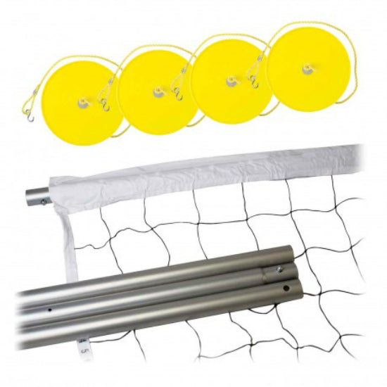 Franklin 13059 Professional Series Steel Pole Volleyball Post & Net System