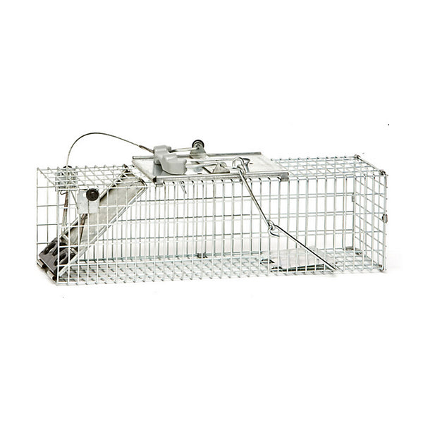 Havahart 1082 1-Door Easy Set® Cage Trap for Rats/Squirrels, Small