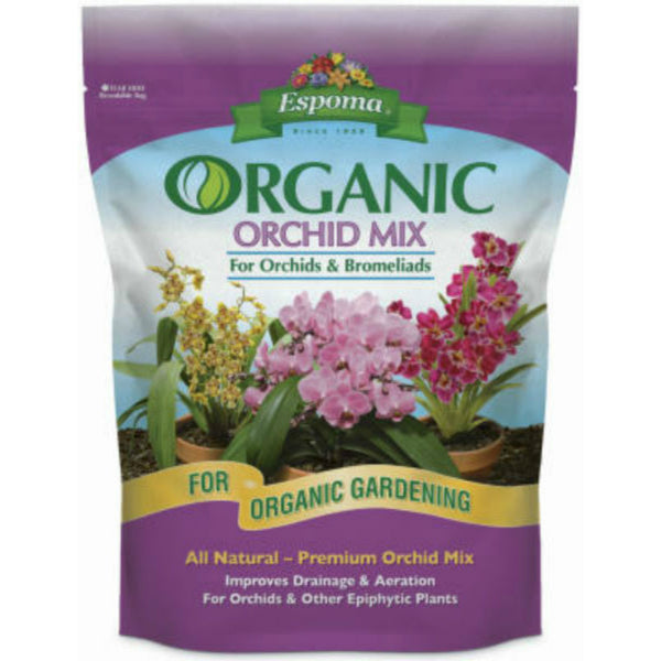 Espoma® OR4 Organic Orchid Mix® All Natural Premium Soil Mix for Orchids, 4 Qt