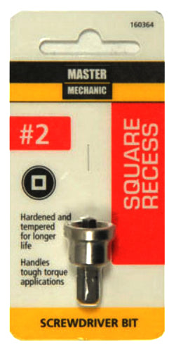 Master Mechanic 160364 Square Recess Drywall Bit, #2