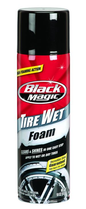 Black Magic® 800002220 Tire Wet Foam, 18 Oz