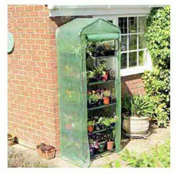 "Gardman R700A 5-Tier Greenhouse with Heavy Duty Cover, 27"" x 18"" x 79"""