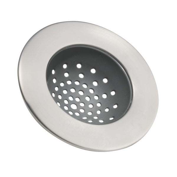 InterDesign® 65380 Forma Sink Strainer, Brushed Stainless Steel