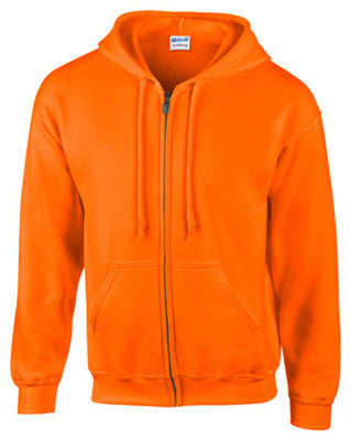 Gildan G18600ORG-L Sweatshirt Large, Safety Orange
