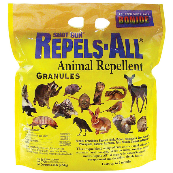 Bonide® 2362 Repels-All® Granules for Rodents, 6 lbs
