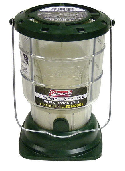 Coleman® 7708 Citronella Candle Lantern, Repels Mosquitoes, 50 Hour Burn Time