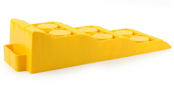 Camco 44573 RV Tri-Leveler, Yellow