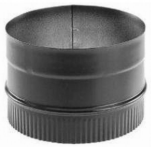 "DuraVent® 6DBK-AD DuraBlack Stove Top Adapter, 6""D, Painted Black"