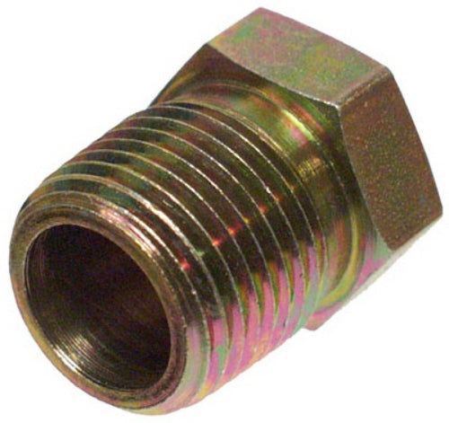 Apache 39035478 Hydraulic Hex Reducer Bushing Adapter, 1/2'' MP x 3/8'' FP