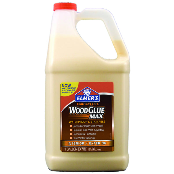 Elmer's E7330 Carpenter's® Wood Glue Max® Glue, 1 Gallon