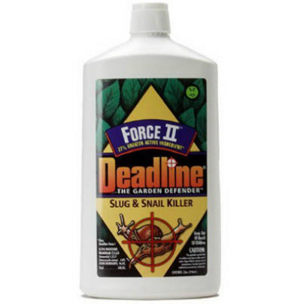 Deadline® 100509275 Force II Liquid  Slug & Snail Killer, 32 Oz
