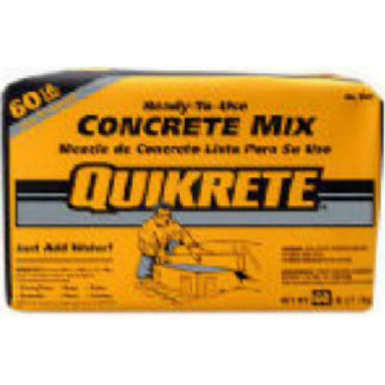 Quikrete® 110160 Ready-To-Use Concrete Mix, 60 Lbs
