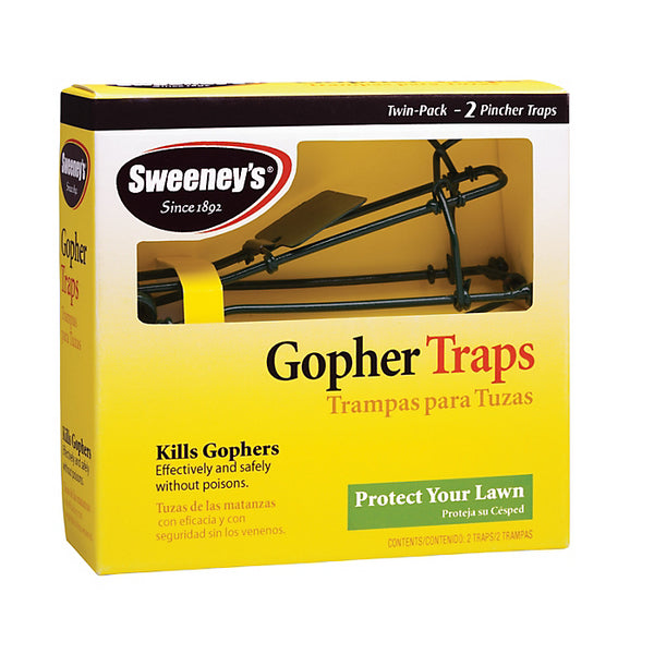 Sweeney's® S9013 Easy-To-Set Gopher Trap, 2-Pack