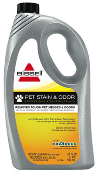 Bissell® 72U8 Pet Stain & Odor Formula Carpet / Upholstery Cleaner, 32 Oz