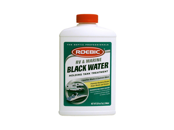 Roebic® RV-Q-12 RV & Marine Black Water Holding Tank Treatment, 1 Qt