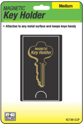 Hy-Ko KC199-CLIP Magnetic Key Holder, Medium