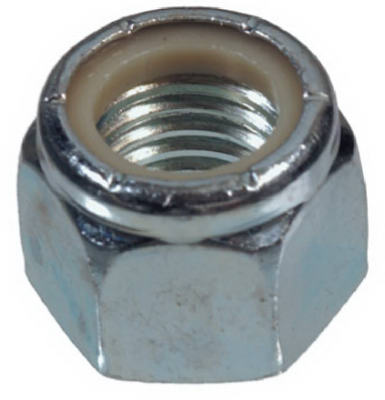 Hillman 180138 Nylon Insert Lock Nut 8-32, 100 Pack
