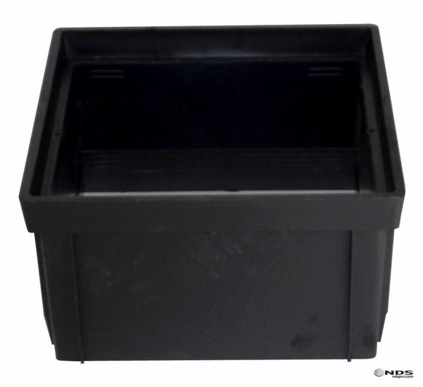 "NDS 1216 Catch Basin Riser, 12"", Black"