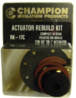 Champion Irrigation RK-17C Actuator Rebuild Kit