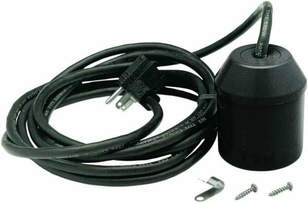 Parts 2O™ FP18-15BD-P2 Tethered Universal Sump Pump Float Switch with 10' Cord