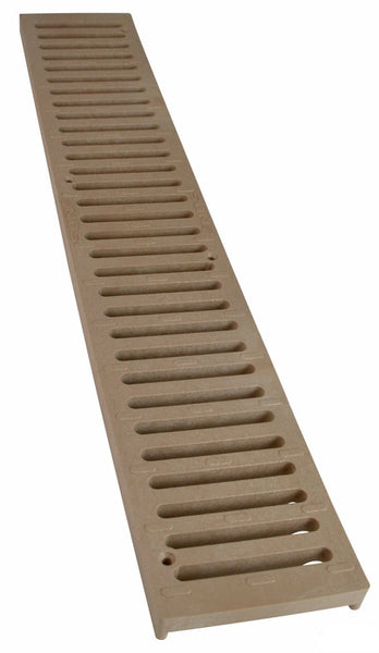 NDS 244 Speed Channel Drain Grate, 2', Sand