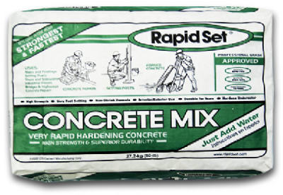 Rapid Set 30360 Concrete Mix, 60 Lbs