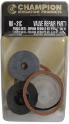 Champion Irrigation RK-31-C Anti-Siphon Valve Repair Kit, 1""