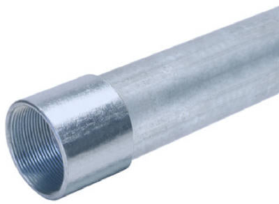 "Allied Tube 2 RIGID Galvanized Steel Rigid Conduit, 2"" x 10'"
