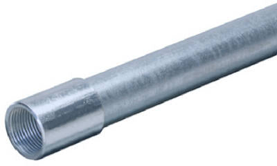 "Allied 1 Rigid Conduit 1"" x 10', Galvanized Steel"