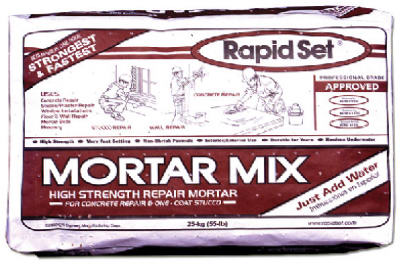 Rapid Set 30565 Concrete Mix, 55 lb